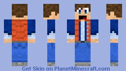 Marty Mcfly Back to the future - Skin Contest Minecraft Skin