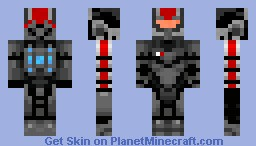 N7 Armor-Mass Effect (Anything to Improve On?) Minecraft Skin