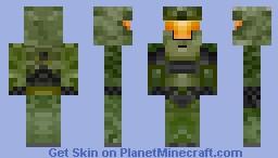Halo - Master Chife. Minecraft Skin