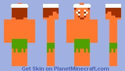 Master Higgins Minecraft Skin