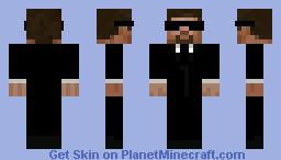 Matrix Agent Minecraft Skin
