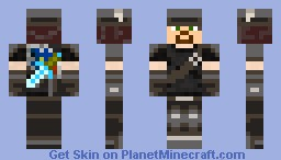Solider From A far Minecraft Skin