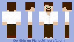 My Max Payne FFA character(Demarco Aborad) Minecraft Skin