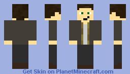 Max Payne Minecraft Skin