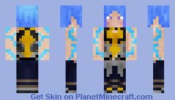 Maya (Borderlands) Minecraft Skin