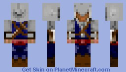 [Assassin's Creed: III Connor Skin] Minecraft Skin