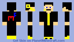 Mc F Worker (Mc Fuckles Its for a machinima) Minecraft Skin