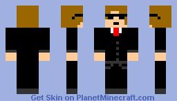 Muzzy the Agent Minecraft Skin