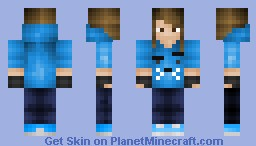 Me | werewolflord180 | Omar's Sis | Updates In Description! Minecraft Skin