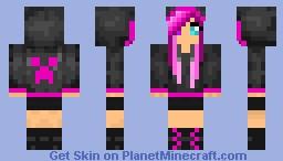 Creeper Girl Minecraft Skin - Skins para minecraft pe girl