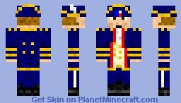 Ship Captain Minecraft Skin