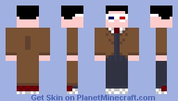 Me as the Doctor (10th) Minecraft Skin