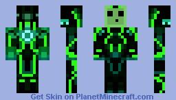 Mechanical slime Minecraft Skin