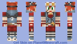Gaige the Mechromancer (Borderlands2) Minecraft Skin