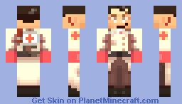 Medic [Team Fortress 2] Minecraft Skin