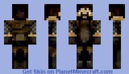 Medieval Black smith Minecraft Skin