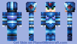 Mega Man Minecraft Skin