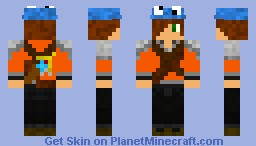 Me if i was in the Hunger Games Minecraft Skin