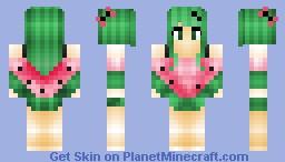 Melonie the Watermelon Girl ;P Minecraft Skin
