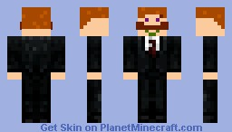 Mr. mustache Minecraft Skin