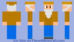 Terraria Merchant Minecraft Skin