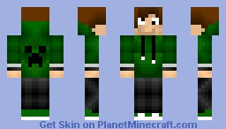 Mess(Skin for my friend) Minecraft