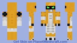 Metabee (Hero) Minecraft Skin