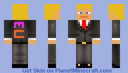 Man in suit Minecraft Skin