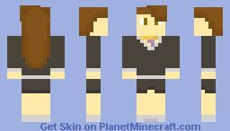 Mia Fey - Phoenix Wright: Ace Attorney Series Minecraft Skin