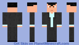 Michael (GTA V Skin Pack 1) Minecraft Skin