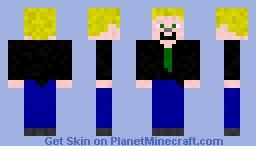 TheGamesColo in a suit Minecraft Skin