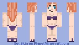 Michelle in a Bikini