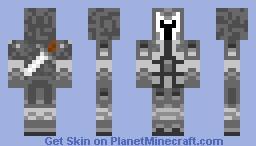 MidNightWarrior Minecraft Skin