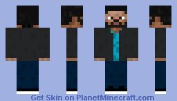 Mike Shinoda (from Linkin Park) Minecraft Skin