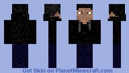 A guy in a hoodie Minecraft Skin