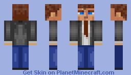 Miles Upshur (Outlast) Minecraft Skin