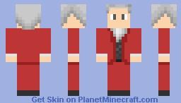 Miles Edgeworth - Phoenix Wright: Ace Attorney Series Minecraft Skin