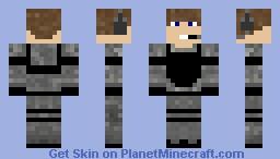 Military Man Minecraft Skin