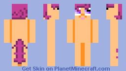 Scootaloo MyLittlePony Minecraft Skin