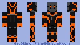 Future Assassin Minecraft Skin