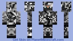 Snow Camo Minecraft Skin