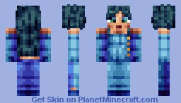 Fairytail - Minerva Minecraft Skin