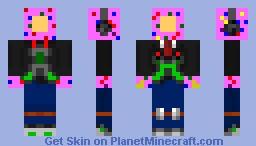 Modern Donut Man Minecraft Skin