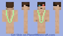 Guy in a mankini for Doin45 Minecraft Skin