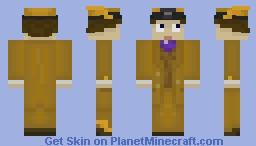 Moist Von Lipwig (v2) Minecraft Skin
