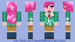 Rosario + Vampire (Outer Moka) Minecraft Skin