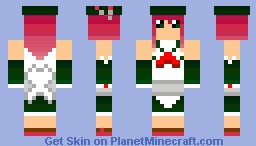 Momone Momo Minecraft Skin