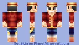 Monkey D. Luffy [New World] Minecraft Skin