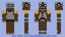 Monkeyborn Skyrim Minecraft Skin