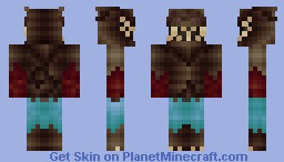 The Monster - Creepy Skins Minecraft Skin